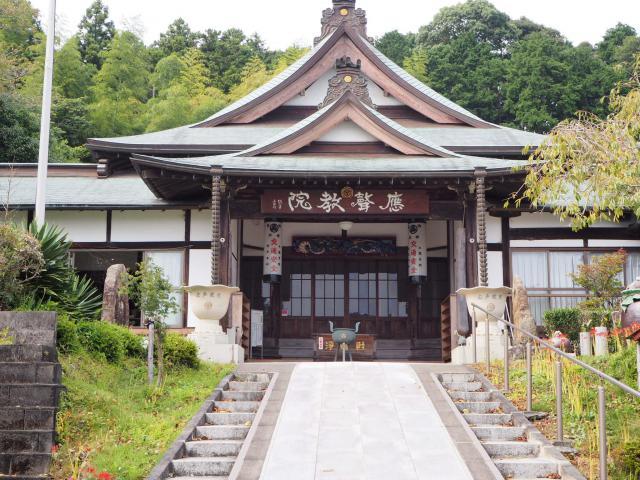 静岡県応声教院桜ケ池教会の本殿