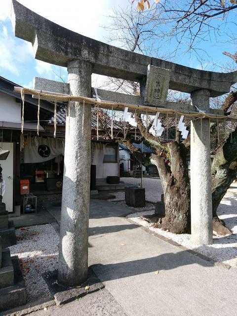 福岡県日吉神社の鳥居