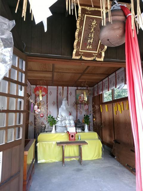 福岡県日吉神社の本殿