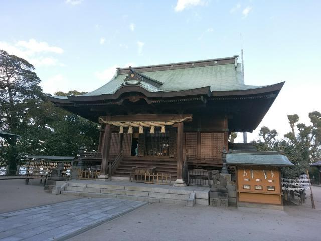 福岡県水天宮の本殿