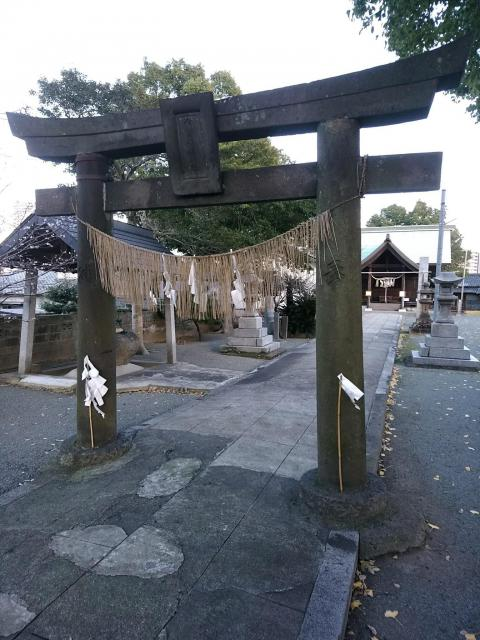 福岡県伊勢天照御祖神社(大石神社)の鳥居