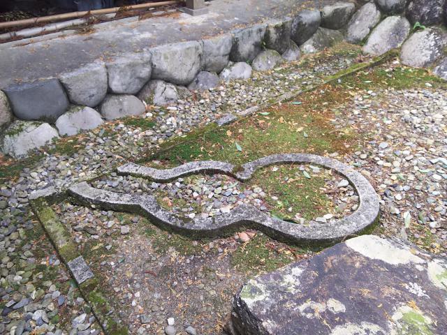 岐阜県鞍知神社の本殿