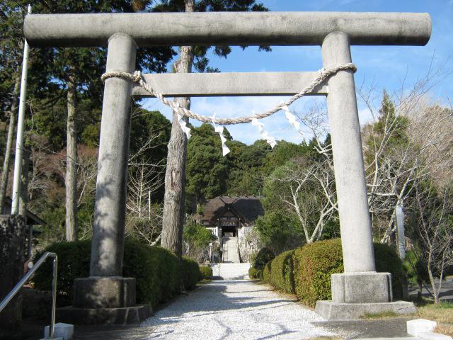 千葉県高家神社の鳥居