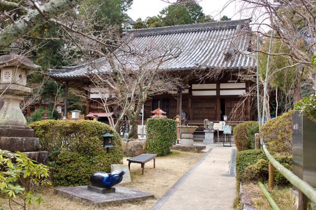 京都府海住山寺の本殿