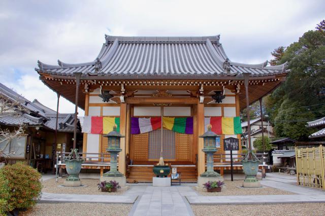 京都府蟹満寺の本殿