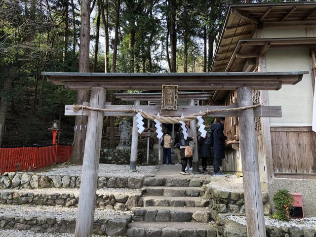 京都府御髪神社の鳥居