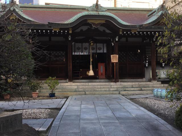 兵庫県三宮神社の本殿