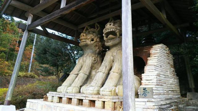 八王子神社の狛犬