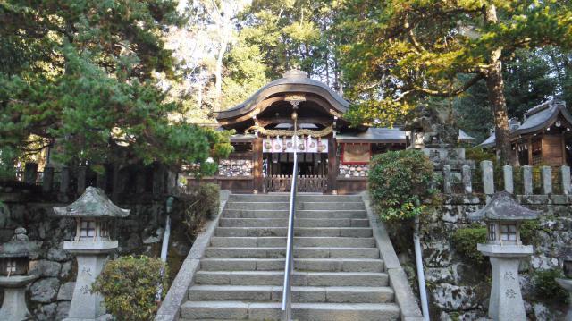 鷺森神社の本殿