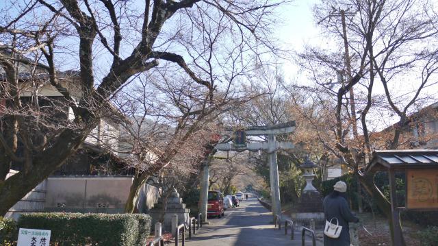 鷺森神社の鳥居