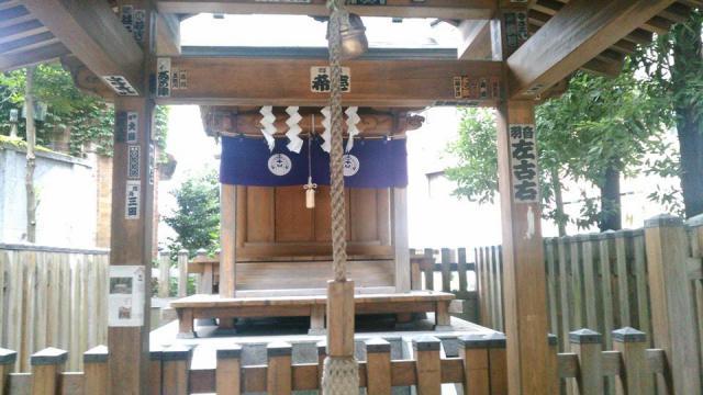 東京都境稲荷神社の本殿