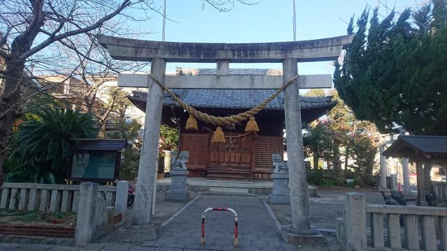 小江神社の鳥居