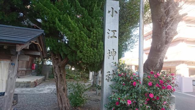 小江神社の自然