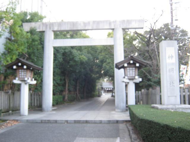 神明社(神奈川県天王町駅) - 鳥居の写真