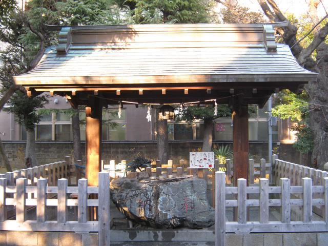 橘樹神社(神奈川県天王町駅) - 手水舎の写真