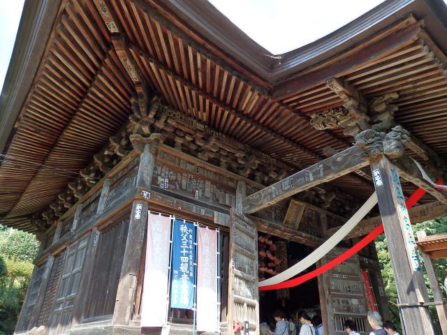 埼玉県法王山 岩之上堂の本殿