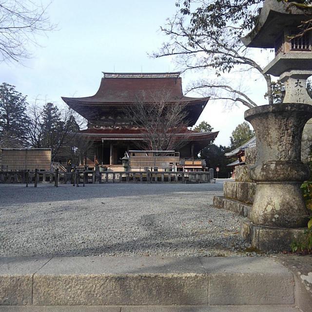 金峯山寺の景色