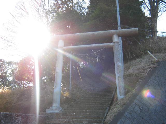 千葉県天富神社の鳥居