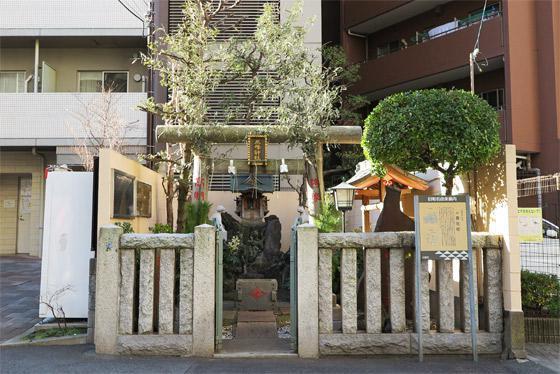 東京都三峰神社の鳥居