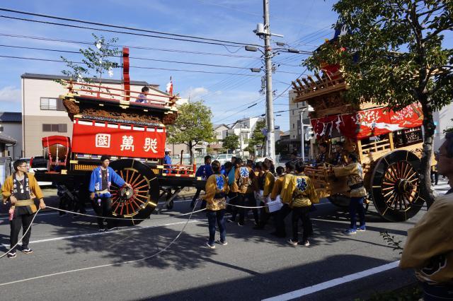 神明宮のお祭り