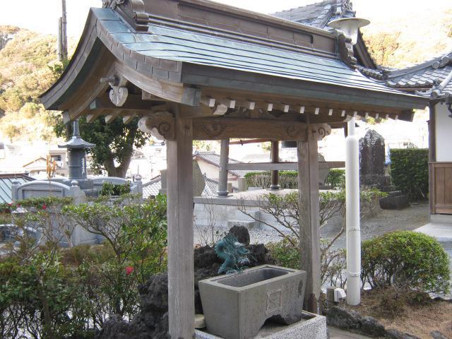 妙蓮寺の手水