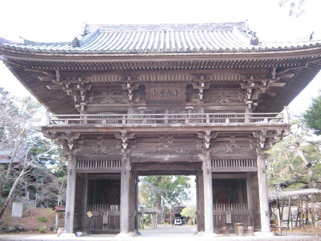 鏡忍寺の山門