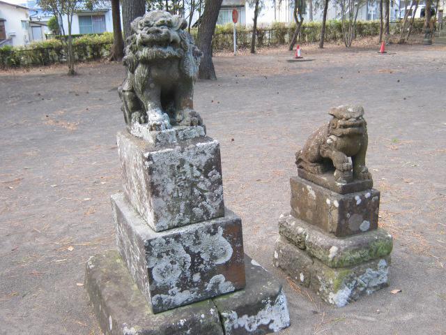 千葉県須賀神社の狛犬