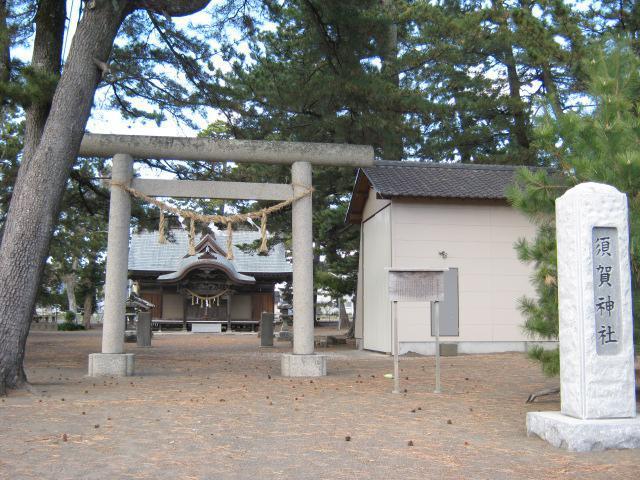 千葉県須賀神社の鳥居