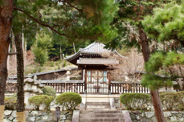 萬福寺の塔