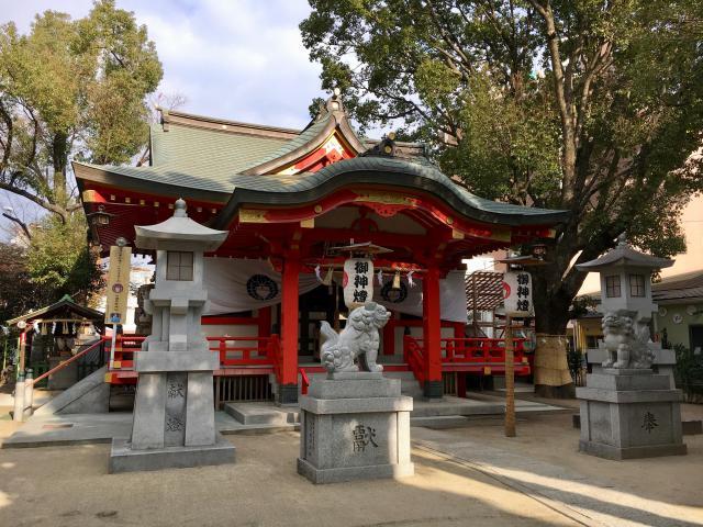 杭瀬熊野神社の本殿