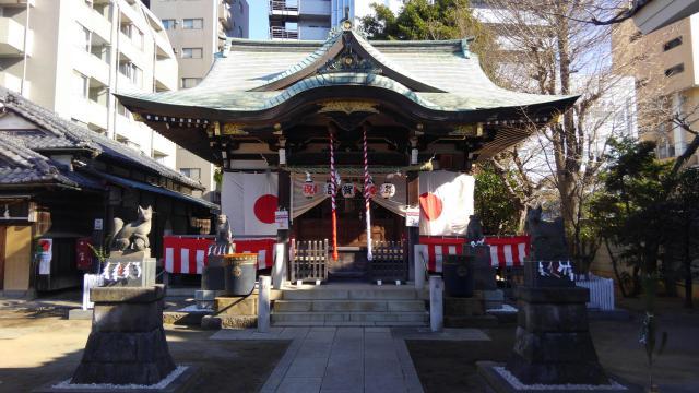 東京都綾瀬稲荷神社の本殿