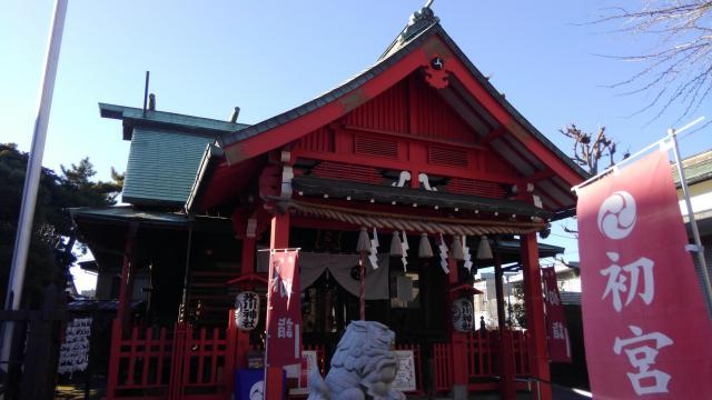 葛飾氷川神社の写真