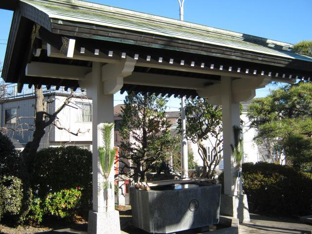 神奈川県住吉神社の手水