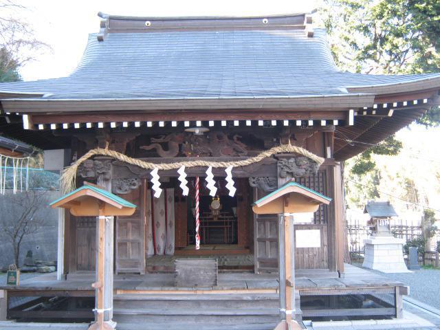 神奈川県春日神社の本殿