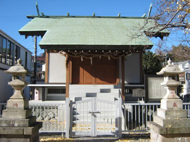 白幡神社(神奈川県弘明寺(京急)駅) - 本殿・本堂の写真