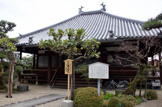 西福寺の本殿