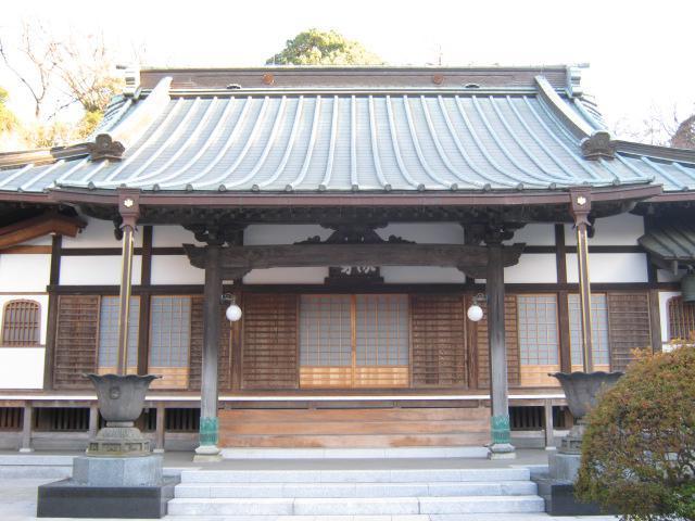 神奈川県高松寺の本殿