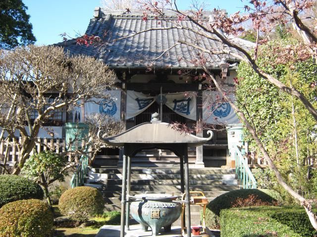 神奈川県大蓮寺の本殿