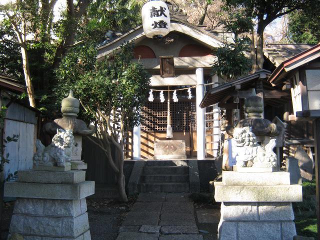 外川神社の本殿