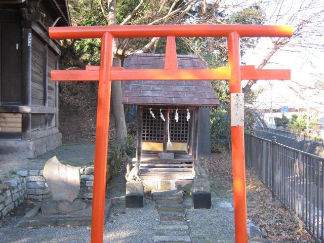 神奈川県外川神社の鳥居