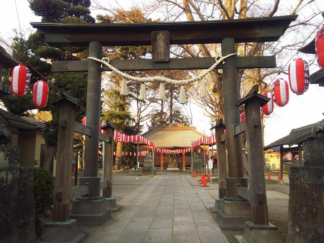 東八幡神社の鳥居