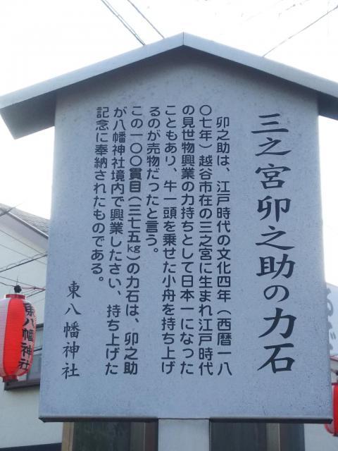 東八幡神社の歴史