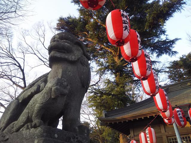 東八幡神社の狛犬