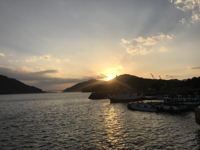 広島県美加登神社の景色