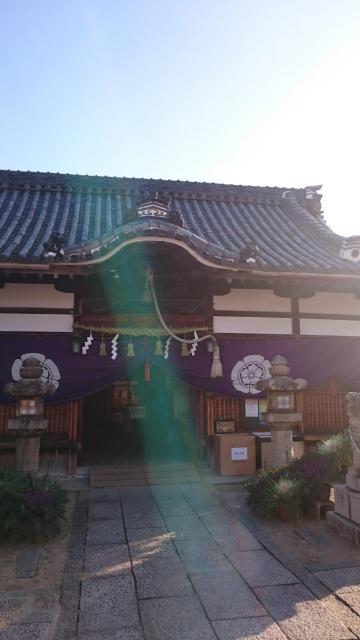 大阪府小山産土神社の本殿