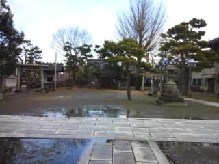 総社大神宮の景色