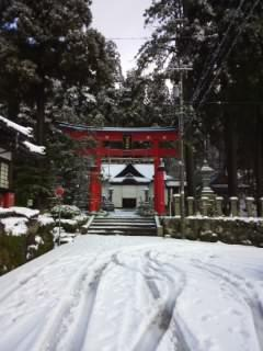 岡太神社の鳥居