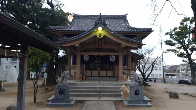 福岡県宝満宮の本殿
