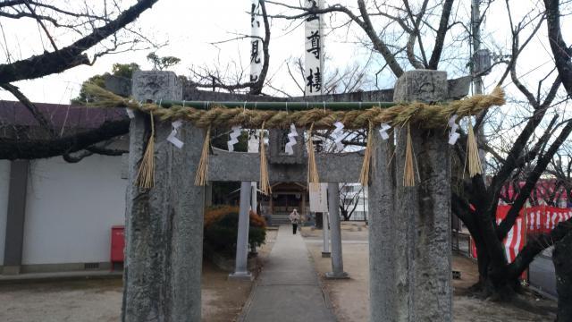 福岡県宝満宮の鳥居