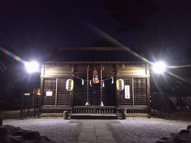 厳島神社(埼玉県松原団地駅) - 本殿・本堂の写真